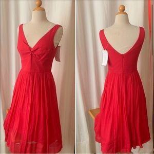 Beautiful NWT J Crew silk chiffon dress